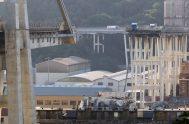14/08/2019 –El Papa Francisco mostró su cercanía a las víctimas de la caída del puente Morandi en Génova (Italia) ocurrido hace un año…