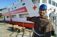 """20/08/2019 –El Papa Francisco expresó su """"gran satisfacción"""" y alegría por el """"Barco Hospital"""" que lleva su nombre y que atenderá a más…"""