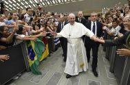 """21/08/2019 –El Papa Francisco lamentó que muchos creyentes actúen como """"turistas de catacumba"""" y no como verdaderos cristianos. El Santo Padre hizo esta…"""