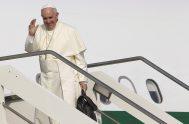 """Vídeo: Agencia internacional de noticias católicas """"Rome Reports"""""""" 10/09/2019 –A lo largo de 6 días, el Papa Francisco ha recorrido 19.000 kilómetros para…"""
