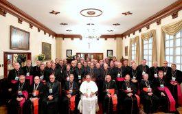 17/09/2019 – El papa Francisco recibió a la presidencia del Consejo Episcopal Latinoamericano en su visita oficial a la Santa…