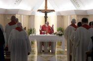 16/09/2019 –El Papa Francisco animó a los cristianos, durante la Misa celebrada este lunes 16 de septiembre en la Casa Santa Marta, a…