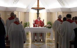 16/09/2019 –El Papa Francisco animó a los cristianos, durante la Misa celebrada este lunes 16 de septiembre en la Casa…