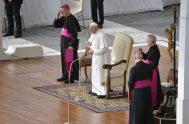 """25/09/2019 – El diácono no es un sacerdote de segunda"""", aseguró el Papa Francisco en la Audiencia General de este miércoles 25 de…"""