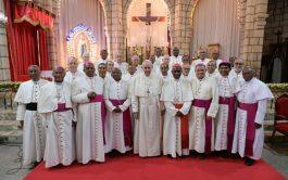 07/09/2019 –El Papa Francisco se reunió este sábado con miembros la Conferencia Episcopal de Madagascar en la Catedral de Andohalo.…