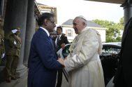 09/09/2019 –Antes de finalizar su viaje a Mauricio y emprender el regreso a Roma después de un viaje por África que también le…