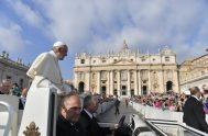 02/10/2019 –El Espíritu Santo es el protagonista de la Evangelización: por eso el Papa Francisco en la catequesis del miércoles 2 de octubre,…