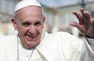 """21/10/2019 –El Papa Francisco anima a los cristianos a """"ayudar a la gente del mar a conocer a Jesucristo y a vivir de…"""