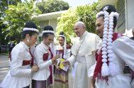 21/11/2019 – El Papa Francisco se encuentra en su Viaje Apostólico en Tailandia y Japón. En un video espontáneo, grabado en la Nunciatura…