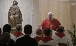 12/11/2019 –En su homilía de la Misa celebrada en la Casa Santa Marta de este 12 de…