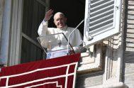 """01/11/2019 –El Papa Francisco aseguró que la Solemnidad de Todos los Santos, que la Iglesia celebra este viernes 1 de noviembre, """"nos recuerda…"""
