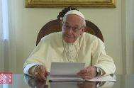 13/11/2019 –A través de un video mensaje, el Papa Francisco manifestó su cercanía a la diócesis de Río Gallegos, con ocasión de los…