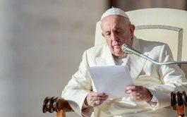 04/12/2019 –En la Audiencia General el Papa Francisco afirmó que las cosas que se hacen para adivinar el futuro o…