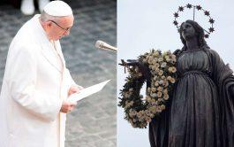 04/12/2019 –El Papa Francisco irá el próximo domingo, Solemnidad de la Inmaculada Concepción de la Virgen, para rendir homenaje a…