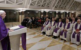 10/12/2019 –En su homilía de la Misa celebrada en la Casa Santa Marta de este 10 de diciembre, el Papa…