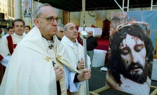 Monseñor Jorge Mario Bergoglio, como Arzobispo de Buenos Aires
