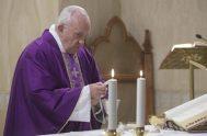 05/12/2019 –En su homilía de la Misa celebrada en la Casa Santa Marta de este 5 de diciembre, el Papa Francisco aseguró que…