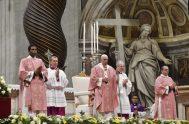 15/12/2019 –El Papa Francisco presidió en el Vaticano este domingo 15 de diciembre la celebración del Simbang-Gabi (Misa de la noche), una antigua…