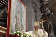 12/12/2019 –El Papa Francisco presidió en la Basílica de San Pedro la Santa Misa en la Solemnidad de Nuestra Señora de Guadalupe. En…