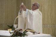07/01/2020 – El Papa Francisco retomó las celebraciones matutinas en la Casa de Santa Marta y en su homilía de este día comentó…