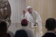 20/01/2020 –En su homilía de la Misa celebrada en la Casa Santa Marta de este 20 de enero, el Papa Franciscoinvitó a escuchar…