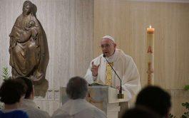 10/01/2020 – Compartimos la homilía del Papa Francisco de la misa celebrada en el día de hoy en la casa…