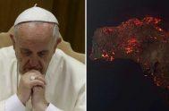 08/01/2019 –El papa Francisco pidió hoy oraciones por Australia, que sufre devastadores incendios forestales, y expresó su solidaridad a la población del país.…