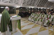 30/01/2020 –Hoy, la lectura del Evangelio de Marcos 2, 21-25 presenta ricas frases y consejos de Jesús. El Papa Francisco eligió uno de…
