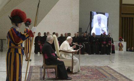 29/01/2020 –En el último miércoles de enero el Papa Francisco comenzó un nuevo ciclo de catequesis sobre las Bienaventuranzas. En este día ofreció una visión general de las mismas, mientras que a…