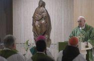 18/02/2020 –En su homilía de la Misa celebrada en la Casa Santa Marta de este 18 de febrero, el Papa Francisco explicó…