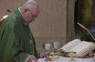 25/02/2020 –En su homilía de la Misa celebrada en la Casa Santa Marta de este 25 de febrero, el Papa Franciscoadvirtió sobre el…