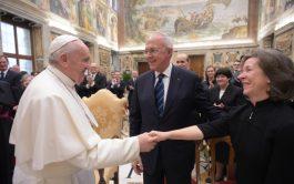 11/02/2020 –El Papa Francisco recibió a la Orden de los Caballeros de Colón fundada hace 100 años por el Venerable…