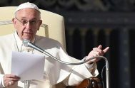 24/02/2020 –El Papa Francisco invitó a los cristianos a dirigir su mirada durante la Cuaresma al Misterio Pascual de la muerte y resurrección…