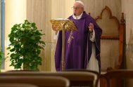 31/03/2020 –Este 31 de marzo, en la Misa en Santa Marta, el Santo Padre dirigió su pensamiento a todos aquellos que en este…