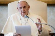 """18/03/2020 –El Papa Francisco aseguró que """"la Misericordia de Dios es nuestra liberación y nuestra felicidad"""" por lo que animó a perdonar al…"""