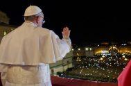 13/03/2020 –Ya son 7 años del momento histórico en el que el Papa Francisco fue elegido el sucesor de San Pedro número 265º,…