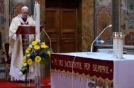 19/04/2020 –La misericordia cristiana fue el centro de la reflexión del Papa Francisco a la hora del Regina Coeli del segundo domingo de…