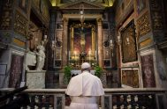 09/04/2020 –A causa de la pandemia, las celebraciones del Jueves y Viernes Santo y Pascua serán dentro de la basílica de San Pedro.…