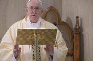 08/05/2020 – El Papa Francisco reconoció, durante la Misa celebrada este viernes 8 de mayo en la Casa Santa Marta, que en los…