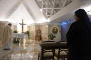 12/05/2020 – Durante la misa matutina de este martes, celebrada en la capilla de Casa Santa Marta, el PapaFrancisco pidió a Dios que…
