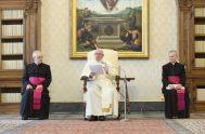 13/05/2020 – Durante su catequesis de la Audiencia General de hoy 13 de mayo, el Papa Francisco subrayó que Jesucristo estableció una relación…