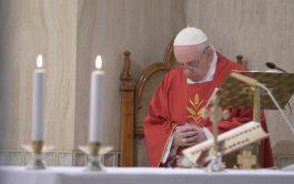 14/05/2020 –Al inicio de la Misa en Santa Marta de este 14 de mayo, el Papa Francisco…
