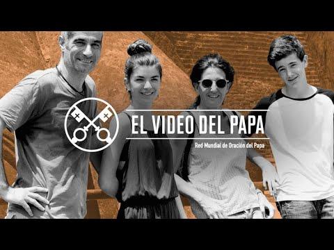"""03/07/2020 – En el """"Video del Papa"""" de este mes de julio, el Santo Padre pone el acento en los momentos difíciles que viven las familias de hoy, marcados por el estrés…"""