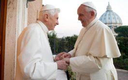 02/07/2020 –El Papa Francisco envió una carta de pésame a Benedicto XVI por la muerte de su hermano, Monseñor Georg…