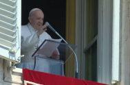 10/08/2020 –En el Ángelus de este domingo, el Papa Francisco comentando el Evangelio del día (Mt14, 22-33), se centró en el diálogo entre…