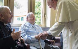 """17/09/2020 –Mensaje del Papa Francisco a los participantes de la """"Jornada de sacerdotes ancianos y enfermos de Lombardía"""", reunidos en…"""