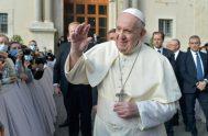 """30/09/2020 –El Papa Francisco rezó para que """"Dios nos conceda 'viralizar' el amor y globalizar la esperanza a la luz de la fe""""…"""