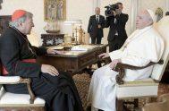 13/10/2020 –El Papa Francisco recibió en audiencia privada este al Cardenal George Pell, prefecto emérito de la Secretaría para la Economía del Vaticano.…