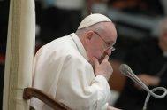 28/10/2020 –En la audiencia general del último miércoles de octubre, continuando con su ciclo de catequesis sobre la oración, el Papa Francisco reflexionó…