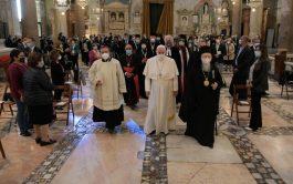 """20/10/2020 – El Papa Francisco participó en el 34º Encuentro Internacional de Oración por la Paz titulado """"Nadie se salva…"""